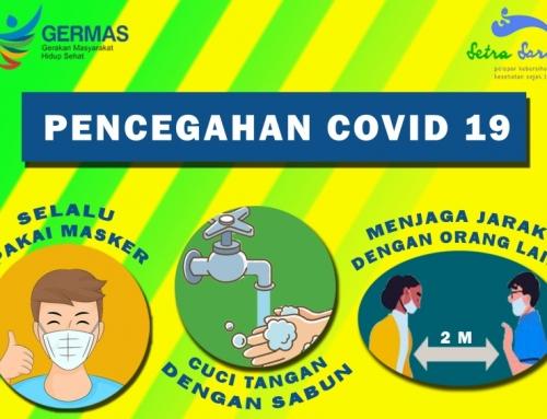 Mari cegah penularan COVID 19 dengan 3M